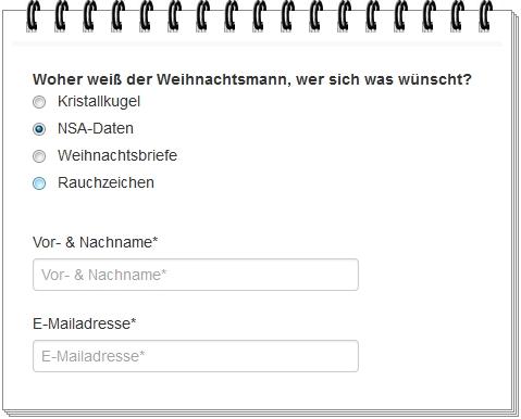 Screenshot eines Onlinegewinnspieles ;)