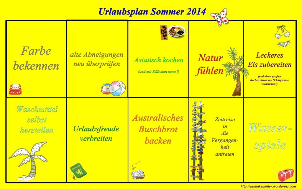 URLAUBSPLAN2014