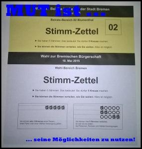 Wahlscheine