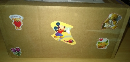 Paket von meiner Wichtelmama
