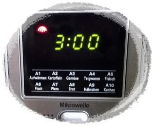 ... und bei 600 Watt für 3 Minuten in der Mikrowelle backen.