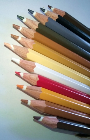 Hautfarbenbuntstifte (3)